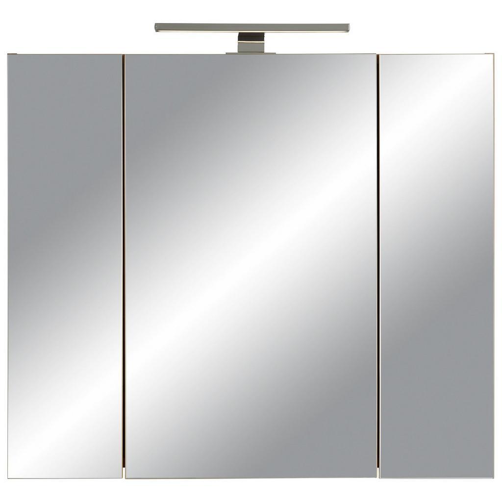 Spiegelschrank in Eichefarben