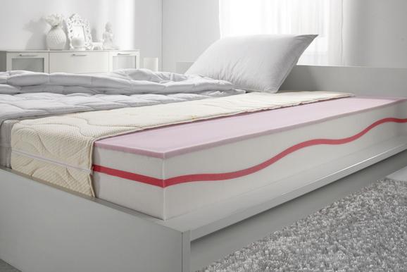 Gelschaummatratze ca. 100x200cm - Beige, Textil (100/200cm)