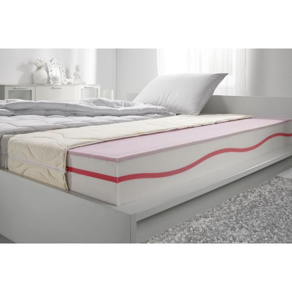 Gelschaummatratze ca. 120x200cm - Beige, Textil (120/200cm)