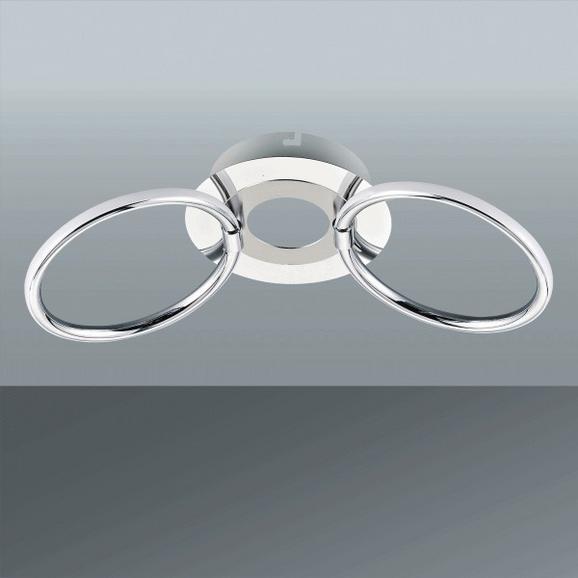 Stenska Led-svetilka Alisia - Moderno, kovina/umetna masa (38/16/12,5cm) - Mömax modern living
