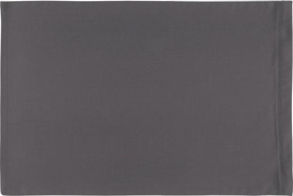 Prevleka Blazine Belinda - antracit/svetlo siva, tekstil (40/60cm) - Premium Living