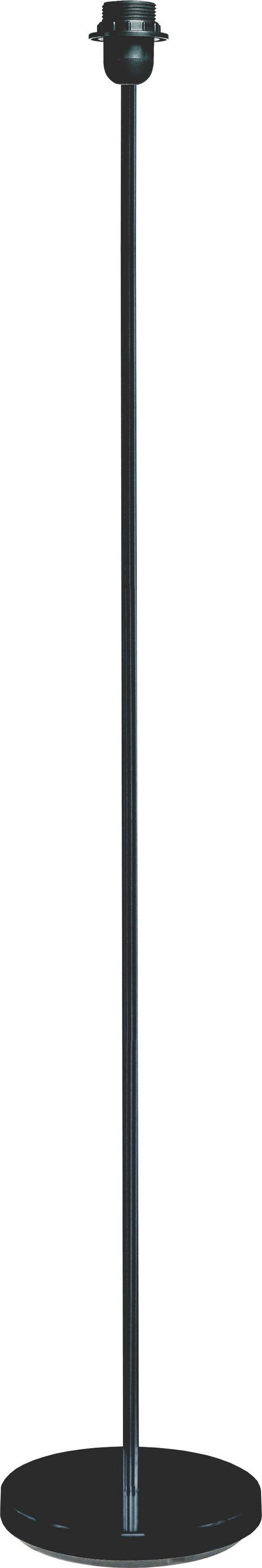 Lámpa Láb Marc - Fekete, Fém (135cm) - Mömax modern living
