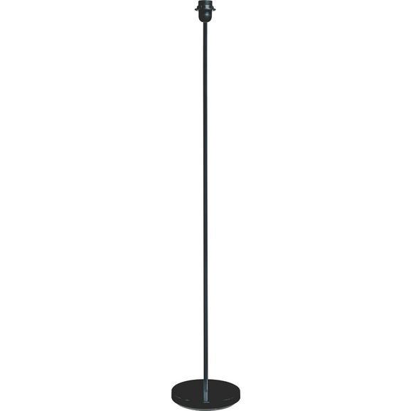 Leuchtenfuß Marc, max. 60 Watt - Schwarz, Metall (135cm) - Mömax modern living