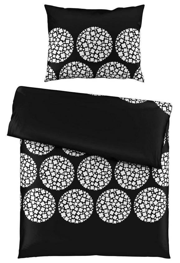 Posteljina Angelika -ext- - bijela/crna, Modern, tekstil (140/200cm) - Mömax modern living