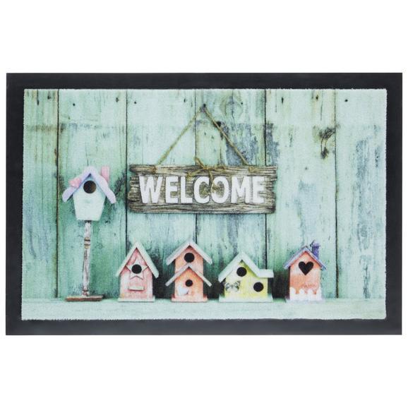 Covoraș Welcome House - multicolor, Modern, textil (40/60cm) - Modern Living