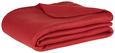 Fleecedecke Trendix Rot 130x180 cm - Rot, Textil (130/180cm) - Mömax modern living