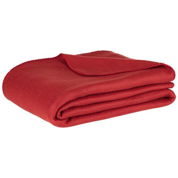 Flis Deka Trendix U Crvenoj Boji - crvena, tekstil (130/180cm) - Mömax modern living