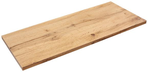 Falipolc Skate 80/30 - tölgy színű, modern, faanyagok (80/1,8/30cm)
