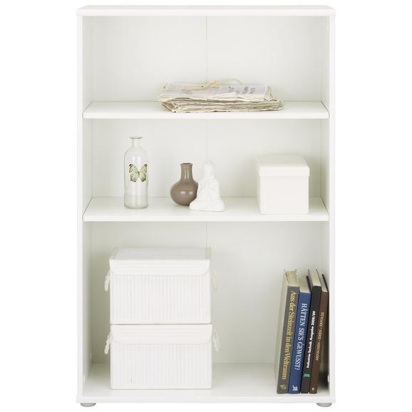 Regal Weiß - Weiß, MODERN, Holzwerkstoff/Kunststoff (72/111/34cm)