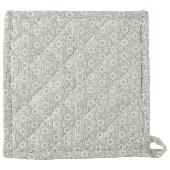 Kuhinjska Prijemalka Ameline - svetlo zelena, Romantika, tekstil (20/20cm) - Zandiara