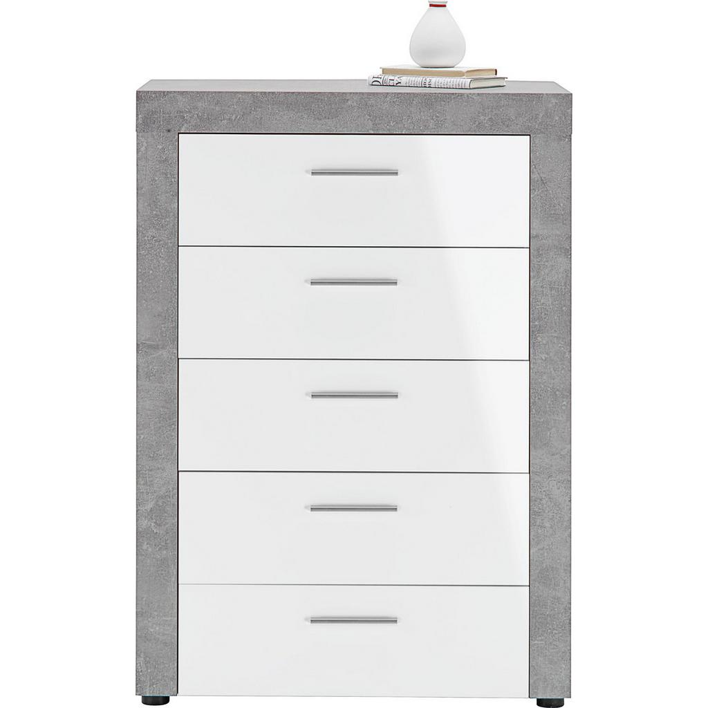 kommode wei betonoptik salzgrotte salarius. Black Bedroom Furniture Sets. Home Design Ideas