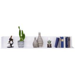 Wandboard in Weiß - Weiß, MODERN, Holzwerkstoff (153/24/23cm) - Modern Living