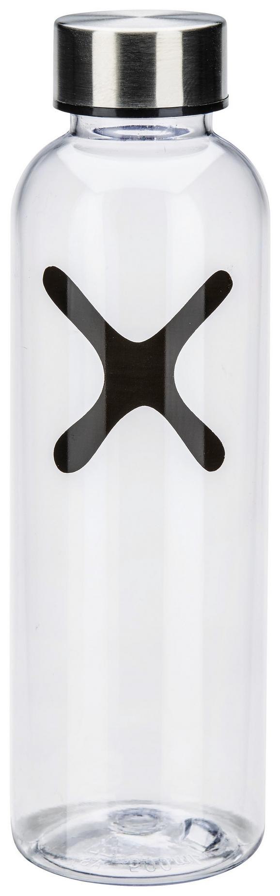 Trinkflasche Mömax 4 You in versch. Farben - Klar/Pink, Kunststoff/Metall (7/21cm) - MÖMAX modern living
