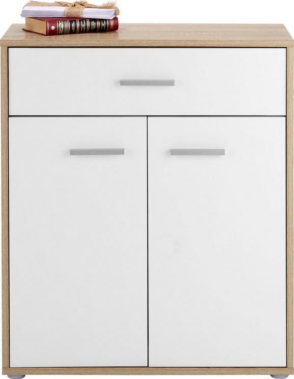 Komoda Andrea - črna/bela, Moderno, umetna masa/leseni material (68/80/34cm) - Mömax modern living