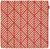 Kissenhülle Mary Jacquard  Terra Cotta - Terra cotta, MODERN, Textil (45/45cm) - Mömax modern living