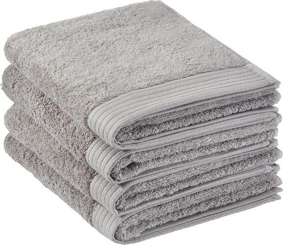 Handtuch Dolly 50x100cm - Hellgrau, KONVENTIONELL, Textil (50/100cm) - Mömax modern living