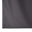 Vorhang Memphis aus Samt ca. 140x250 cm - Anthrazit, MODERN, Textil (140/245cm) - Bessagi Home