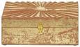 Dekobox Lara Goldfarben - Goldfarben, Holz (21/11/8cm)
