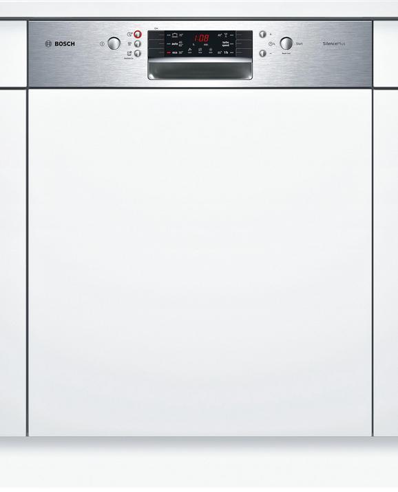 Geschirrspüler Bosch Smi46is01e, EEZ A++ - Edelstahlfarben/Weiß (59,8/81,5/57,3cm) - Bosch