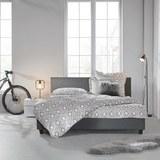 Polsterbett Mika 180x200cm - Grau, MODERN, Holz/Textil (211/188/89cm) - Mömax modern living