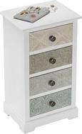 Kommode Avery - Multicolor, MODERN, Holz/Metall (42/76/32cm) - Premium Living