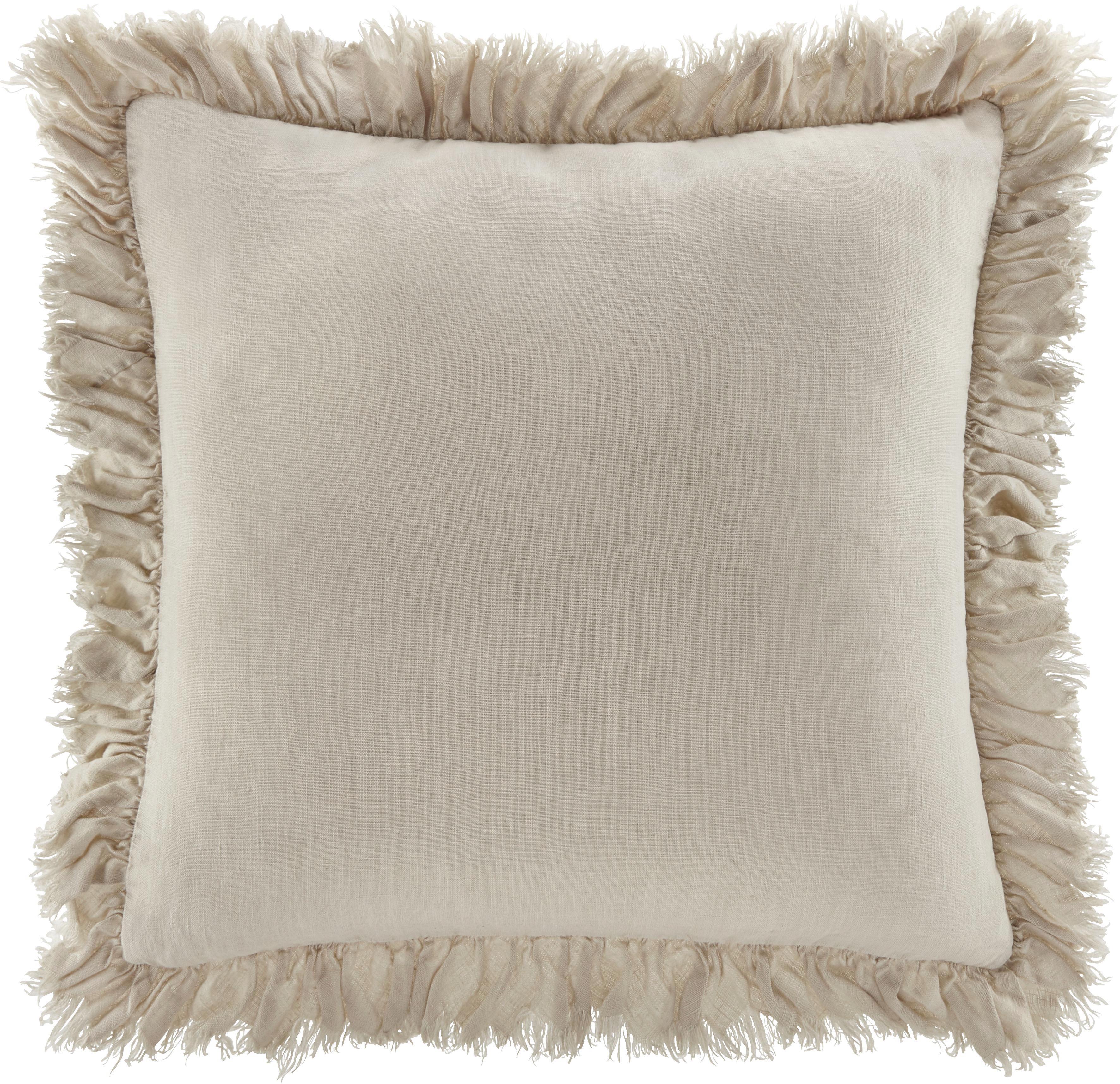 Zierkissen Pascaline 45x45cm - Naturfarben, MODERN, Textil (45/45cm) - MÖMAX modern living