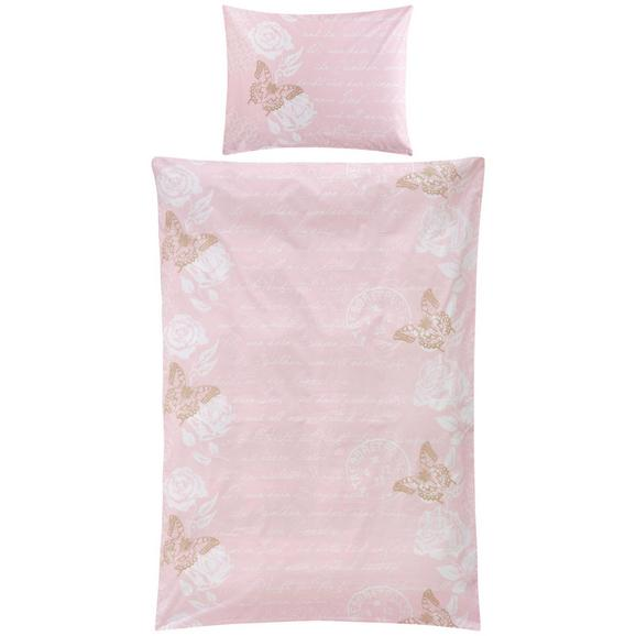 Posteljnina Diary Butterfly -ext- - sivo rjava/bela, Romantika, tekstil (140/200cm) - Zandiara