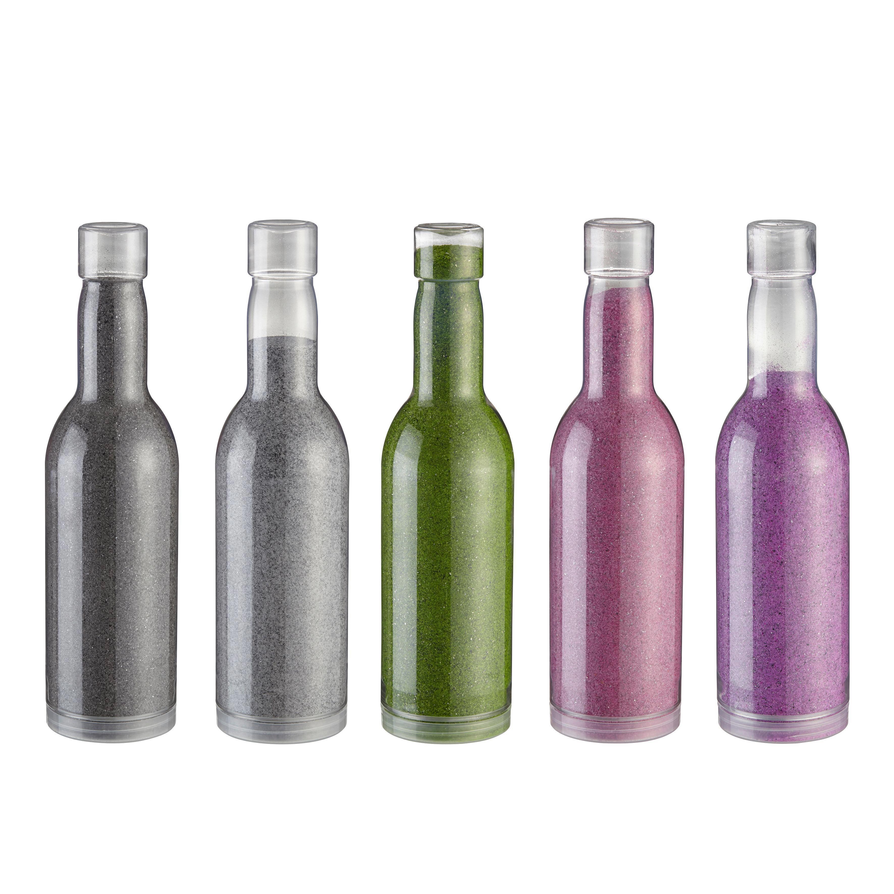 Dekosand Cindy in mehreren Farben - Terra cotta/Naturfarben, Glas (0,65l) - MÖMAX modern living