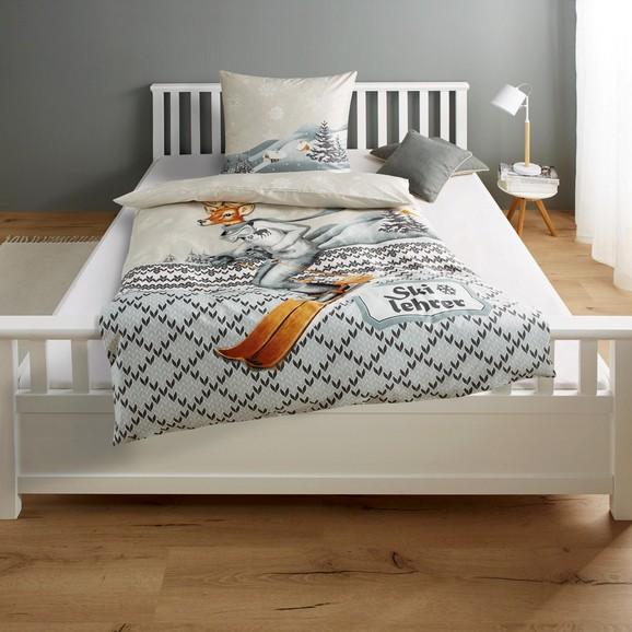 bettw sche skilehrer baumwollsatin 135x200 80x80cm online kaufen m max. Black Bedroom Furniture Sets. Home Design Ideas