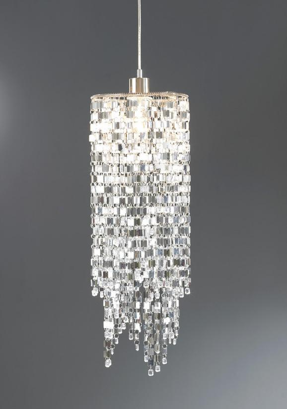 Leuchtenschirm Ivonne - Chromfarben, Kunststoff/Metall (23/55cm) - MÖMAX modern living