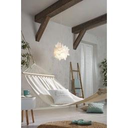 Hängematte Relax Natur - Braun/Naturfarben, Holz/Textil (100/200cm) - Mömax modern living