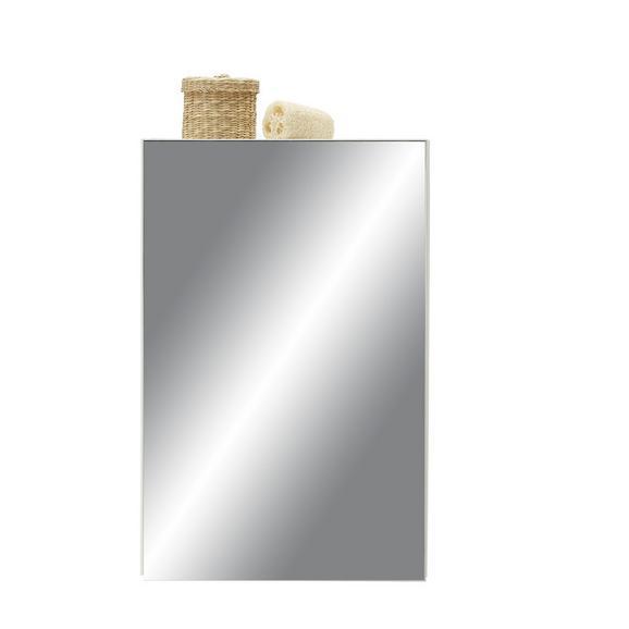 Spiegelschrank Weiß - Weiß, Holzwerkstoff (40,0/61,5/20,5cm) - Mömax modern living