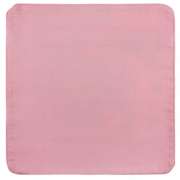 Párnahuzat Steffi - rózsaszín, textil (40/40cm) - MÖMAX modern living