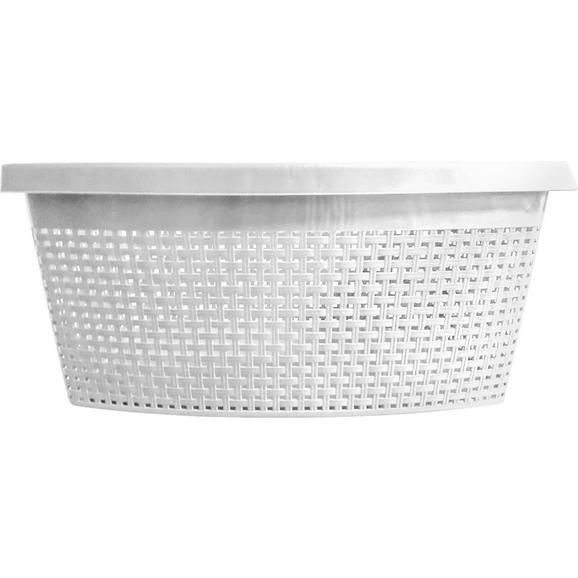 Coș Rufe Rita - alb, plastic (60/40/26cm) - Modern Living