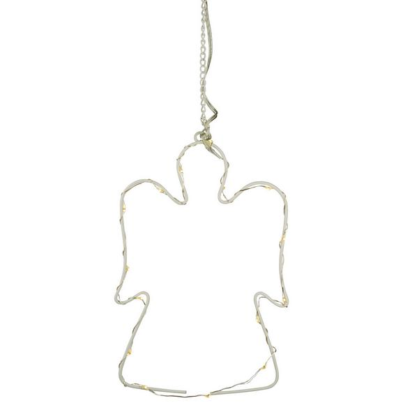 Okrasna Led-svetilka Mette - bela, kovina (20cm)
