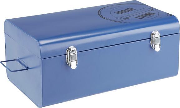 Skrinja Urban - modra, Trendi, kovina (47/19,5/27cm) - Mömax modern living