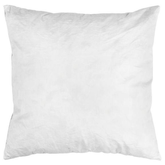 Kissen Fride Weiß 40x40 cm - Weiß, Textil (40/40cm)