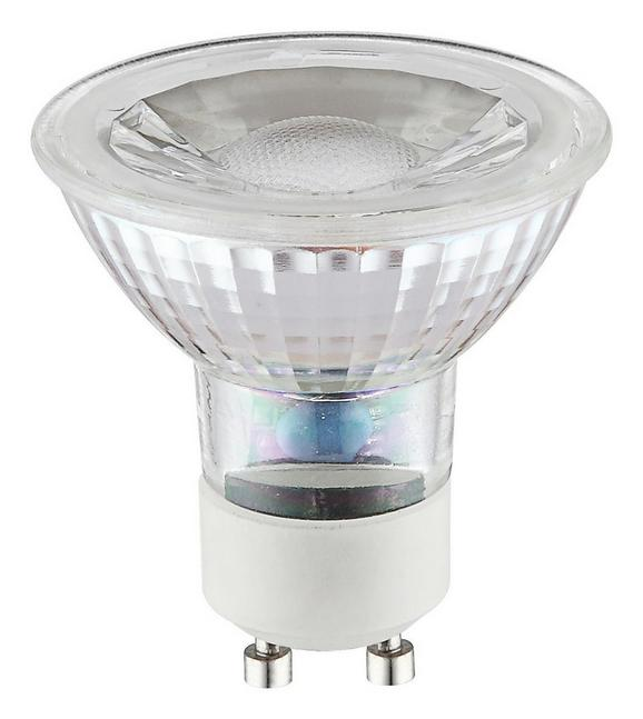 LED-Leuchtmittel 10705, max. 5 Watt - Chromfarben/Weiß, Glas/Metall (5/5,3cm)