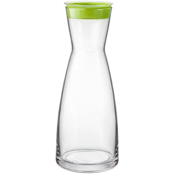 Karafa Za Vodo Brio - turkizna/roza, steklo (1l) - Mömax modern living