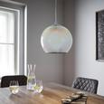 Pendelleuchte Stefano - Chromfarben, MODERN, Glas/Metall (25/125/cm) - Modern Living