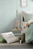 BETTWÄSCHE Lisa Sandfarben 140x200cm - Sandfarben, MODERN, Textil (140/200cm) - Premium Living