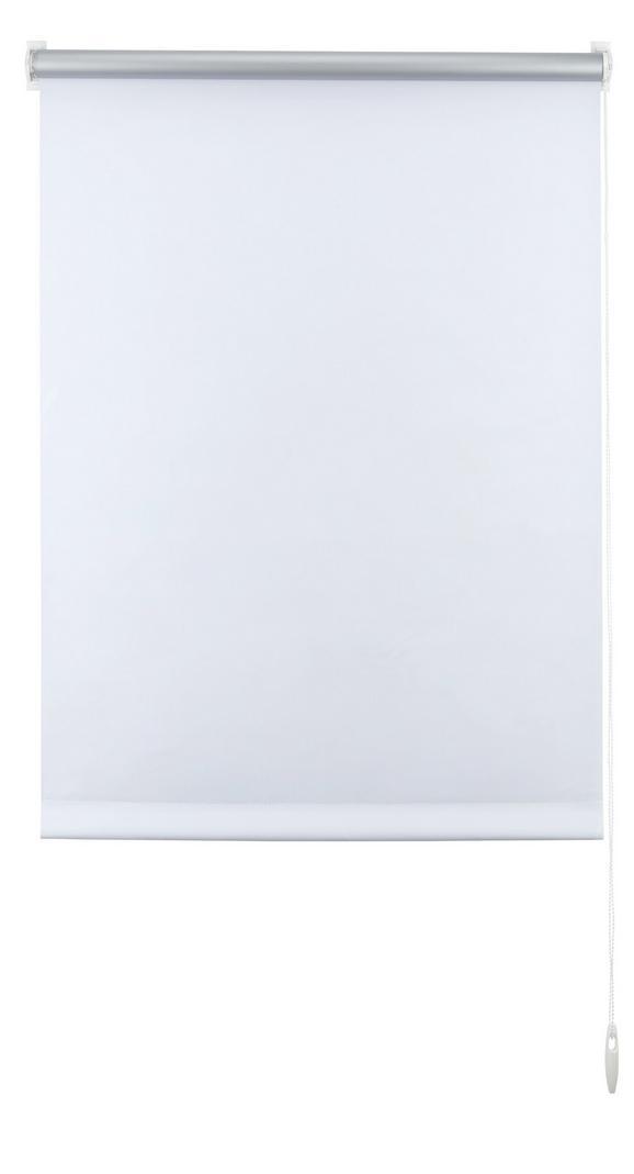 Klemmrollo Thermo in Weiß, ca. 45x150cm - Weiß, Textil (45/150cm) - PREMIUM LIVING