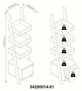 Standregal in Weiss 'Arco' online kaufen ➤ mömax