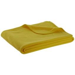 Fleecedecke Trendix Gelb 130x180cm - Gelb (130/180cm) - Mömax modern living