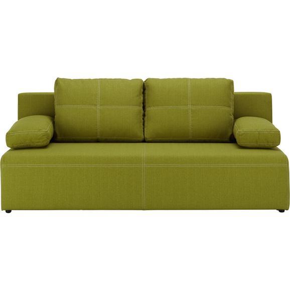 Sofa München - bijela/zelena, Konventionell, tekstil/plastika (202/88/84cm) - Mömax modern living