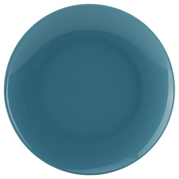 Desertni Krožnik Sandy - modra, Konvencionalno, keramika (20,4/1,8cm) - Mömax modern living
