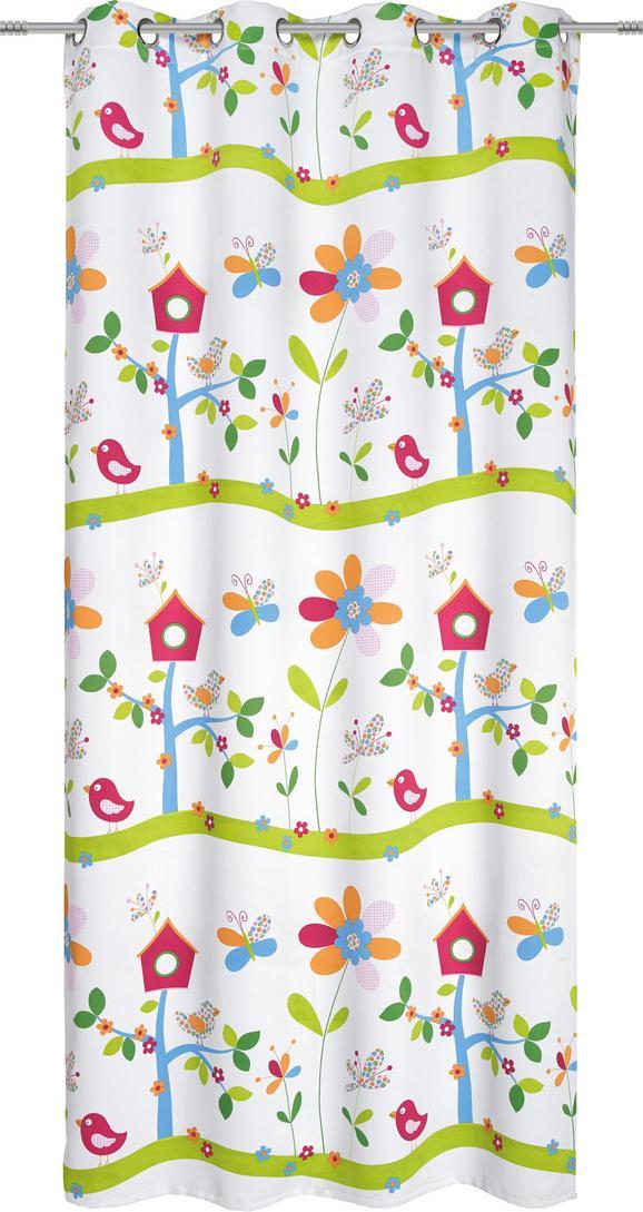 Készfüggöny Madárház Mintás - multicolor, textil (135/245cm) - MÖMAX modern living