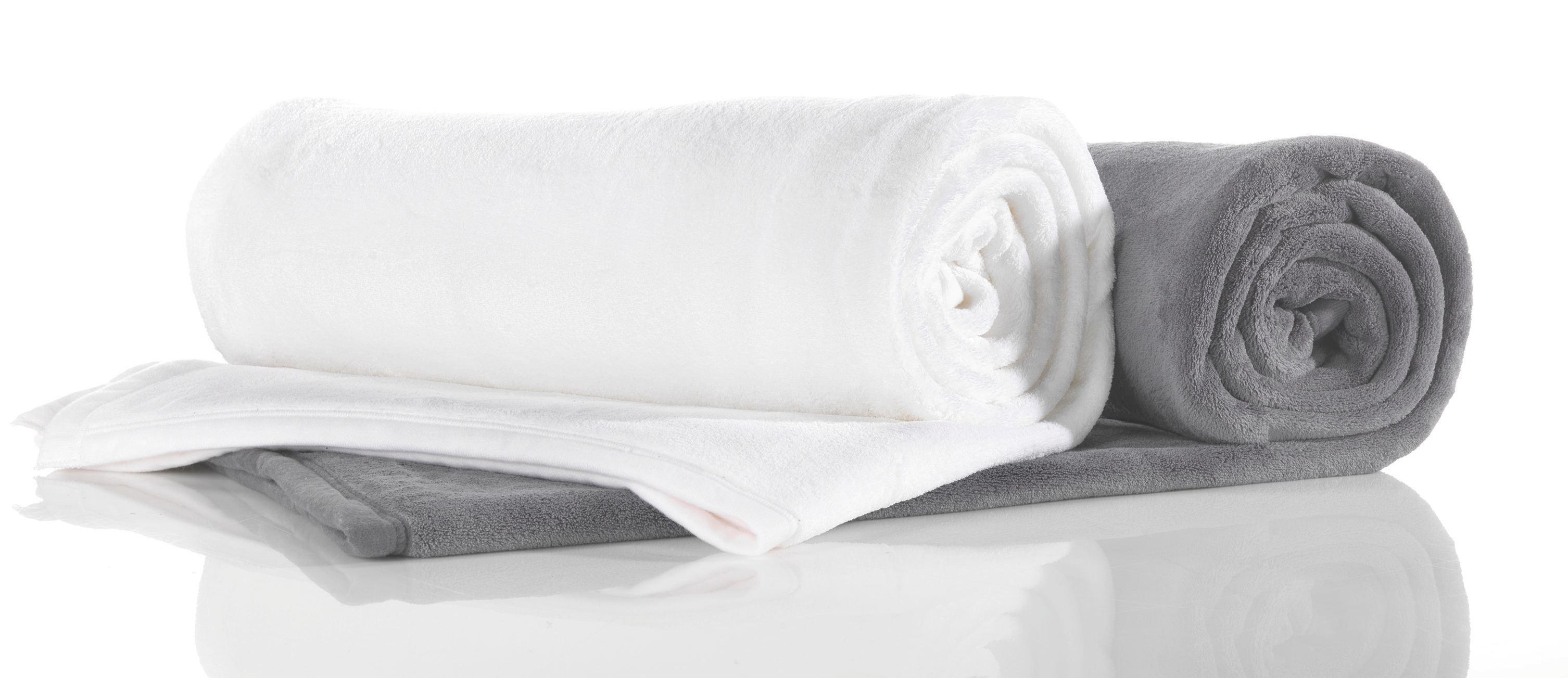 Kuscheldecke Michael XXL in Weiß - Weiß, Textil (220/240cm)