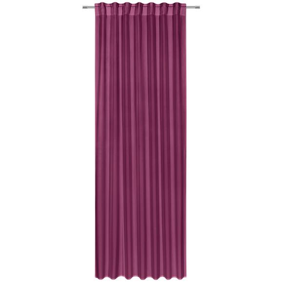 Kombivorhang Ulli Lila 140x300cm - Lila, Textil (140/300cm) - Mömax modern living