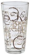 Kaffeeglas Rocco aus Glas ca. 390ml - Klar/Braun, KONVENTIONELL, Glas (0.39l)